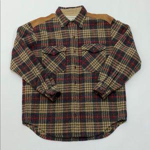 Banana Republic Wool Blend Flannel Shirt